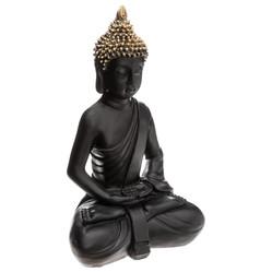 Bouddha Assis Noir Or.jpg