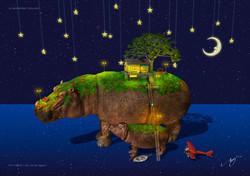 アトリエ縄文じいさん、on the hippo!!