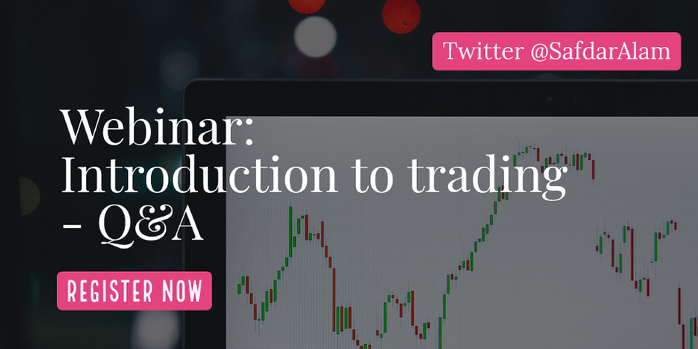 Introduction to Trading Webinar 1