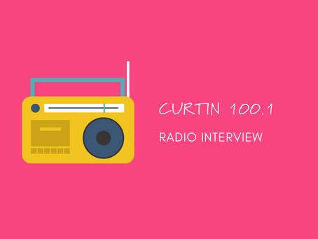 Curtin FM Radio Interview