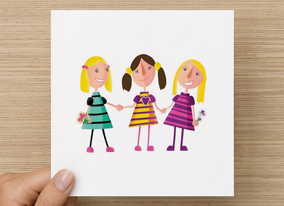 Greeting Card - Best Friends