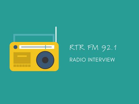 RTR FM Radio interview