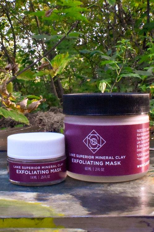Santosha - Lake Superior Mineral Clay Exfoliating Mask