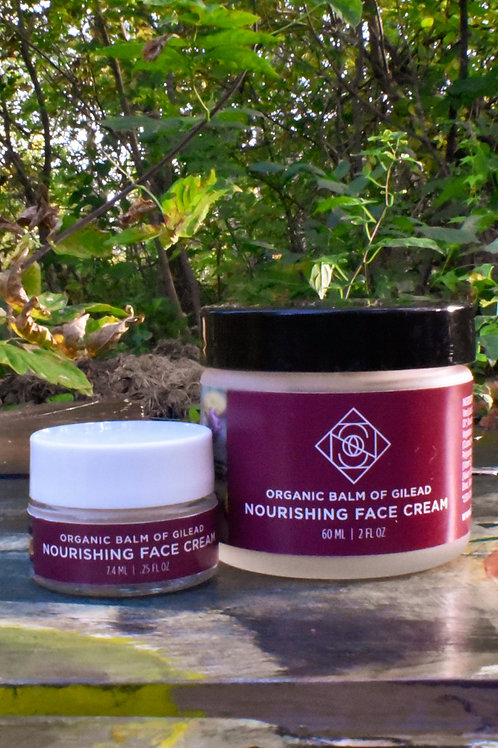 Santosha - Balm of Gilead Nourishing Face Cream