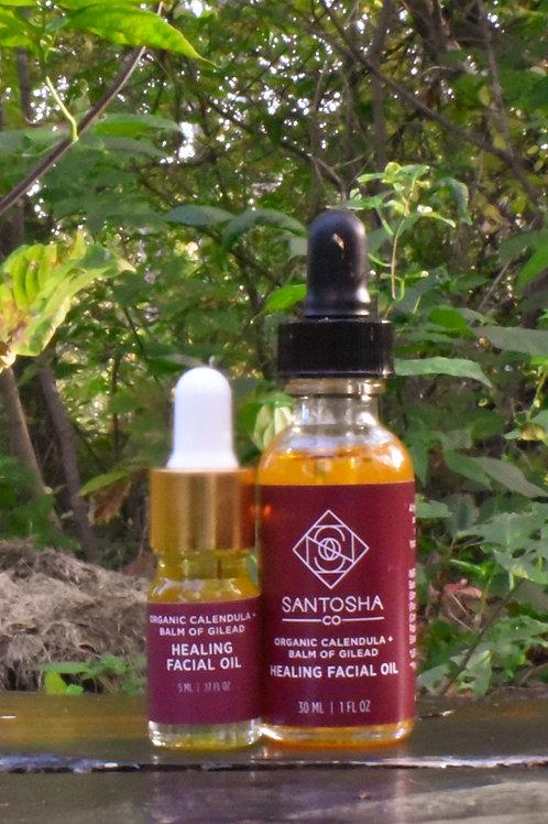 Santosha - Calendula + Balm of Gilead Healing Facial Oil