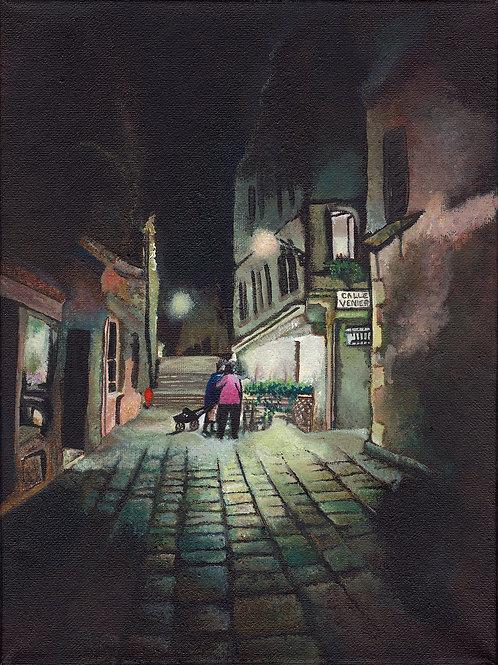 """Giclée print limited edition - """"Calle Venier, Venezia"""""""