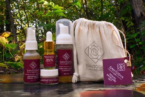 Santosha - Organic Skincare Travel Set