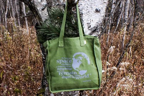 """""""Shantideva"""" canvas bag"""