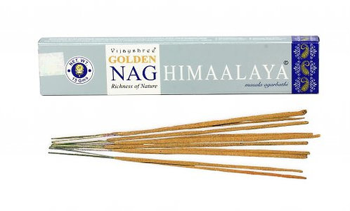 INCENSO GOLDEN NAG - HIMALAYA. 15 gr