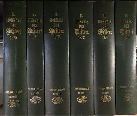 IL GIORNALE DEI MISTERI. ANNATE RILEGATE dal 1971 al 1976