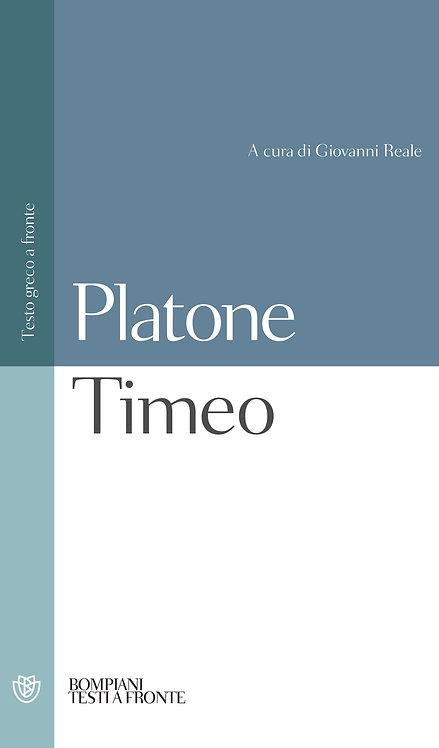 TIMEO. Platone