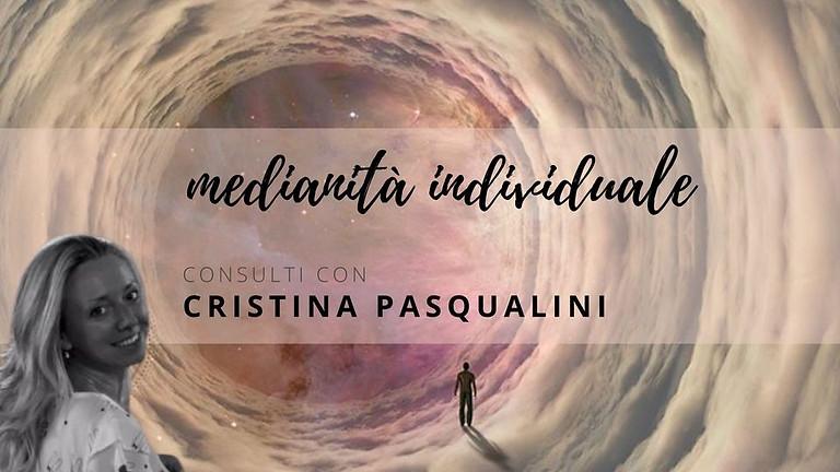 SEDUTE INDIVIDUALI DI MEDIANITÀ. Con Cristina Pasqualini