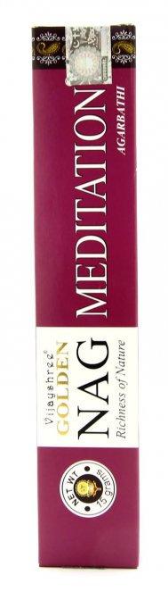 INCENSO GOLDEN NAG - MEDITATION. 15 gr