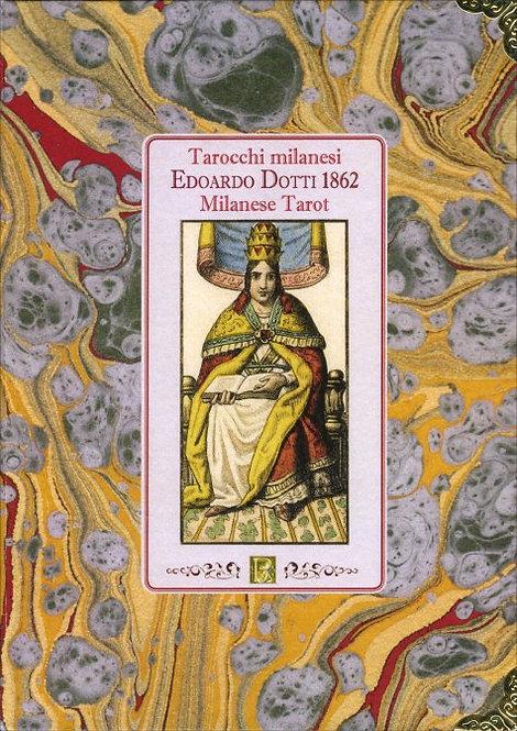 TAROCCHI MILANESI EDOARDO DOTTI 1862