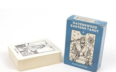 RAVENSWOOD EASTERN TAROT -1981 raro