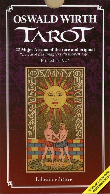 OSWALD WIRTH TAROT - 22 Arcani Maggiori in edizione limitata Deluxe