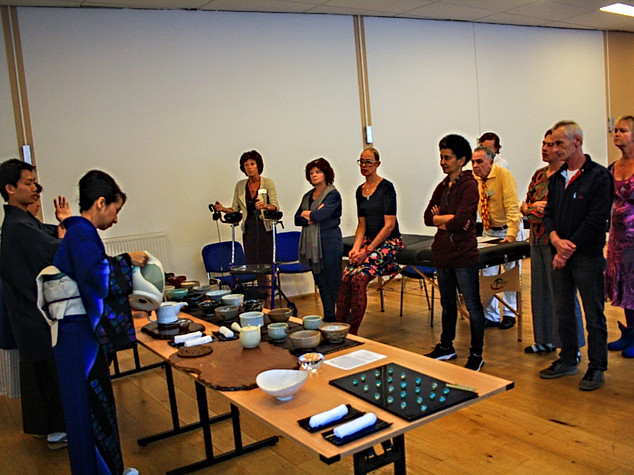 Houjicha workshop in Rotterdam