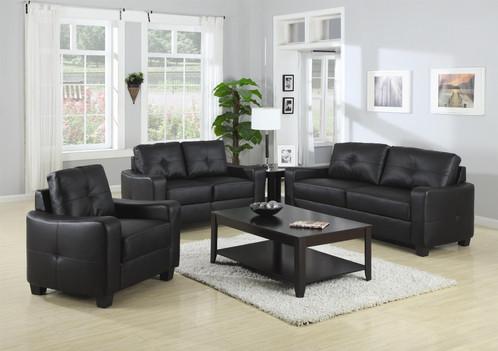 2Pc Jasmine Bonded Leather Sofa & Loveseat | Navarro'S Furniture