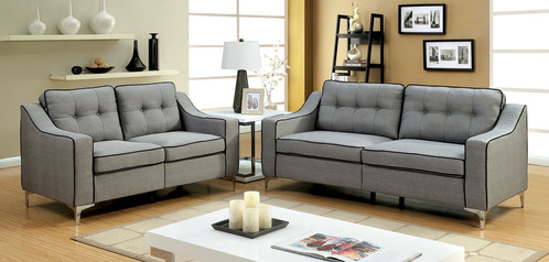 SOFÁ & LOVESEAT BY FURNITURE OF AMERICA