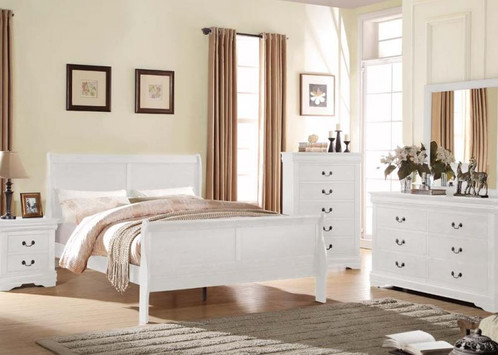 acme furniture bedroom sets. 4PC Louis Philippe Queen Sleigh Panel Bedroom Set By Acme Furniture