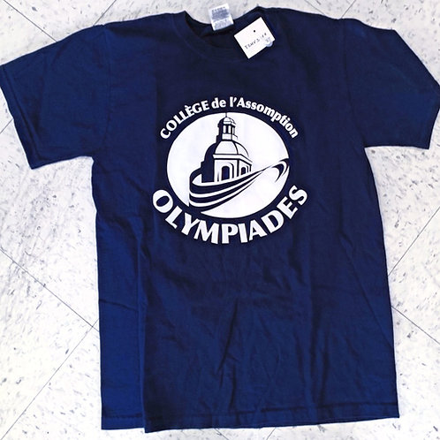 T-Shirt Olympiades V1  -BCBG