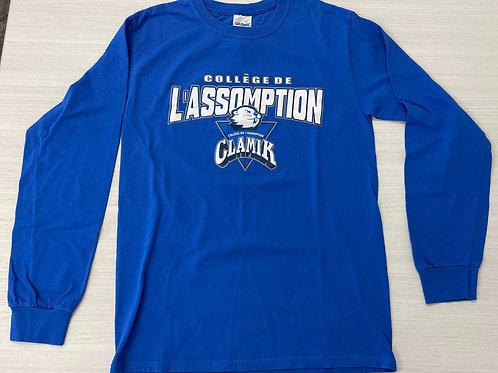 T-Shirt Clamik Volleyball pré-saison 16-17 (manches longues) - Prêt-à-porter