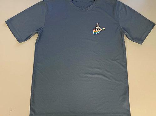 T-Shirt de sport  gris charbon (dry-fit) - BCBG