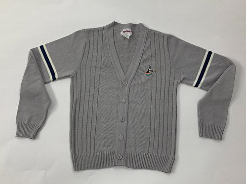 Veste grise avec boutons  - BCBG