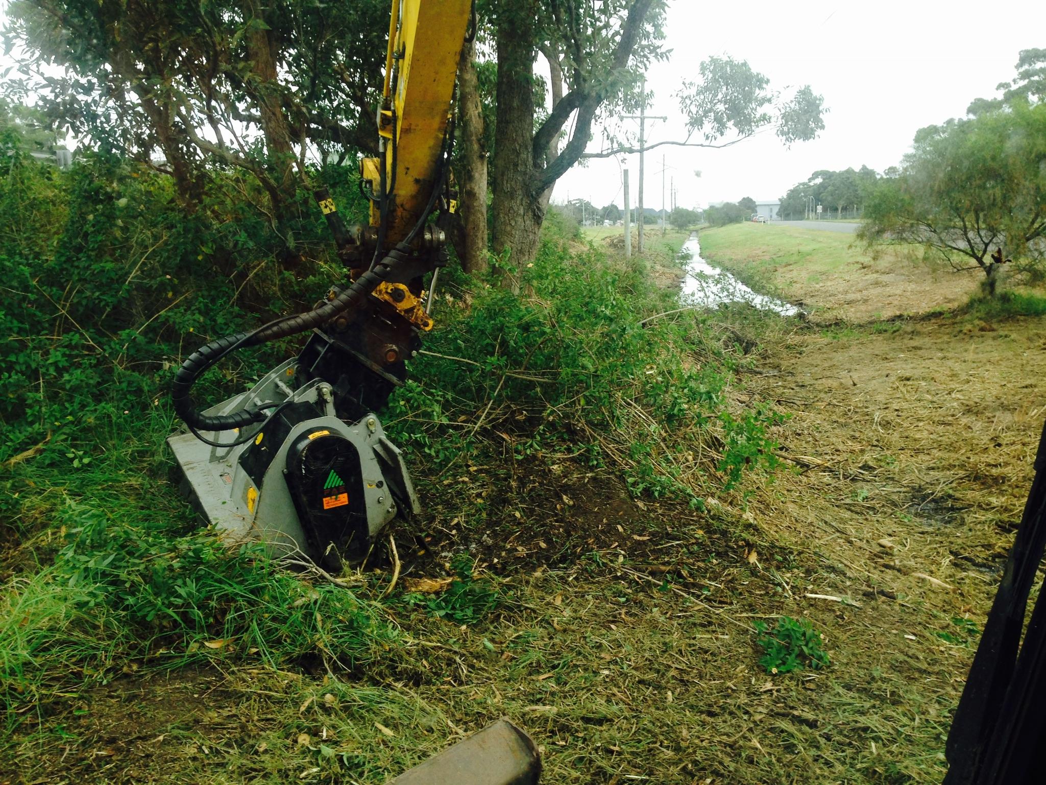 Drain clearing & Mulching