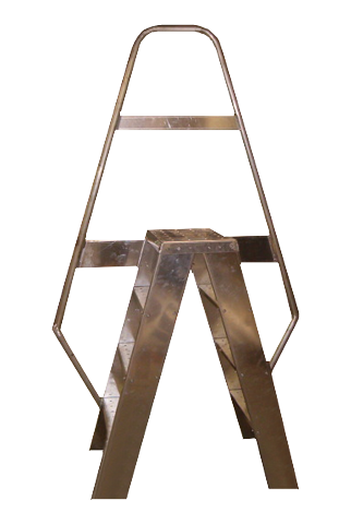 Parapet Wall Access Ladder
