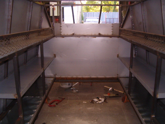 Service Truck Shelves