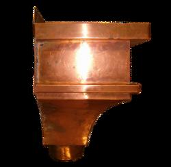 Copper Contemporary Ornate