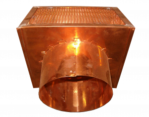 Copper Exhaust Vent