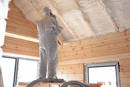 гидро шумо теплоизоляция крыши методом бесшовного напыления тамтк
