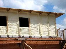 Гидро-шумо-теплоизоляция фасад фото
