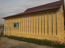Гидро-шумо-теплоизоляция дома фото