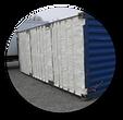 бесшовное утепление контейнеров