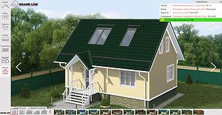 онлайн сервис подбора цвета сайдинга, дома, крыши
