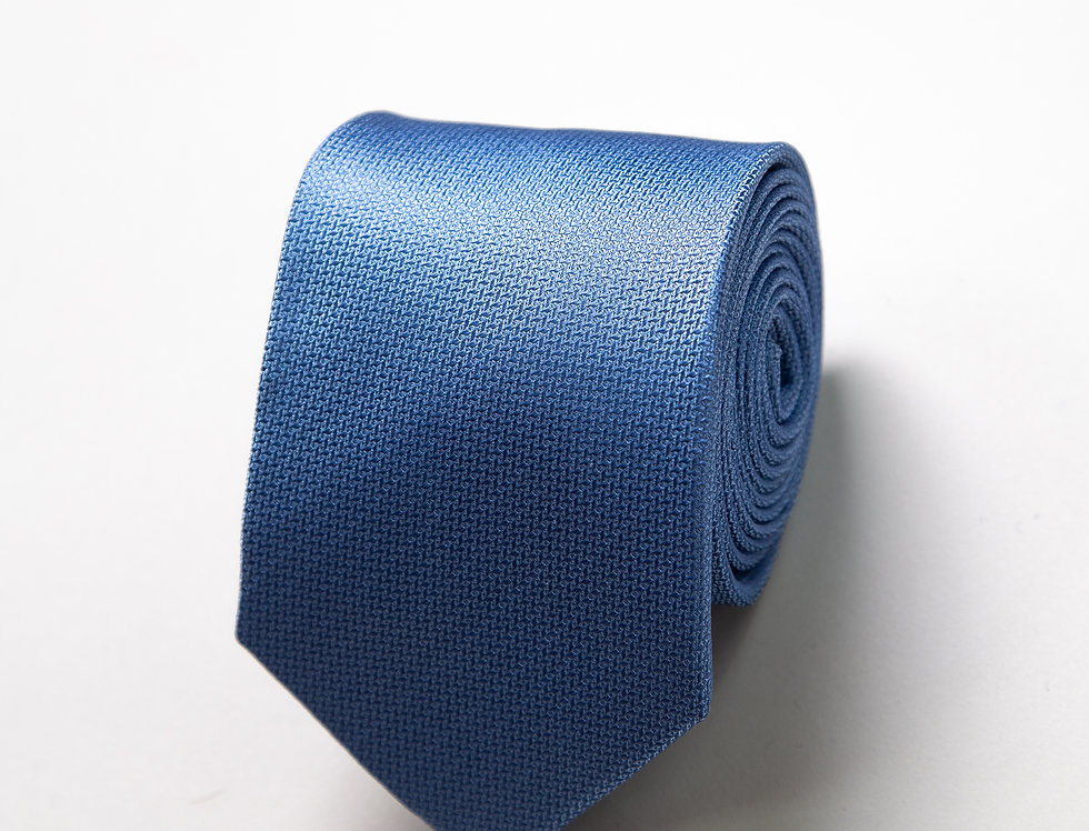 Cravatta pura seta celeste