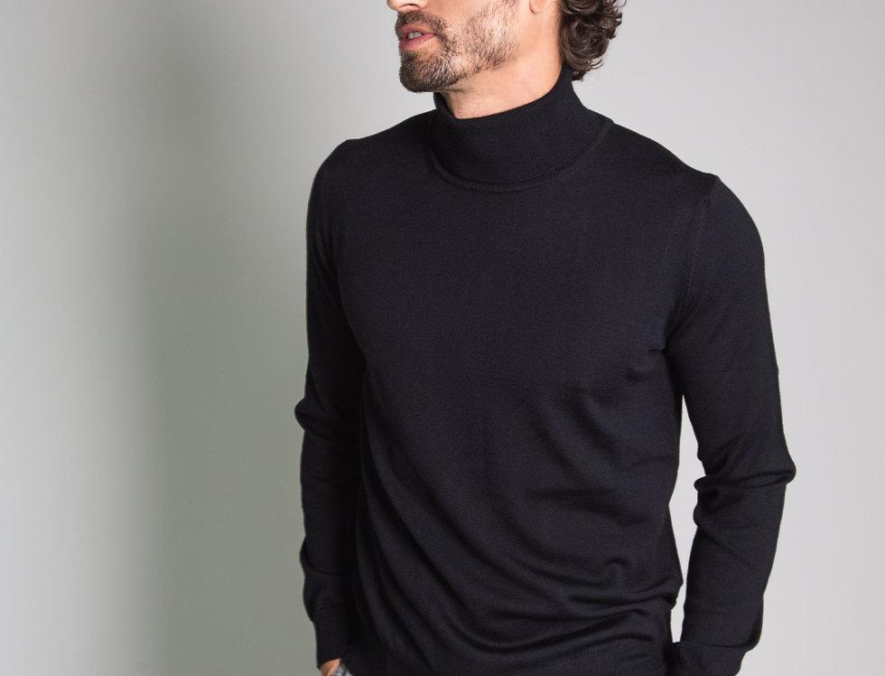 Dolcevita 100% lana nero