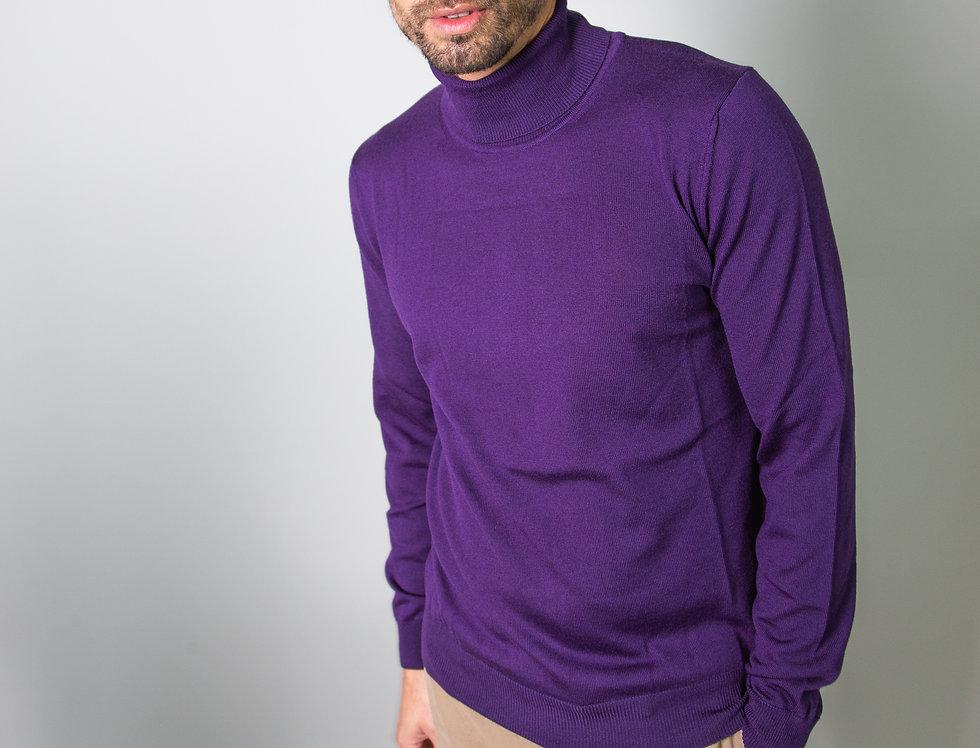 Dolcevita 100% lana viola