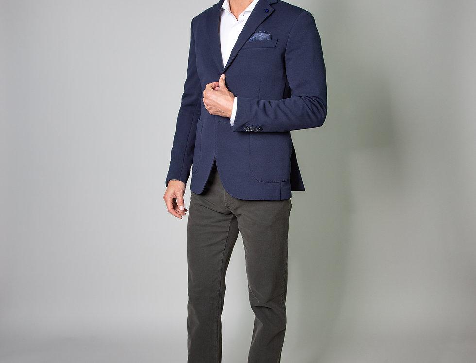 Giacca in jersey blu