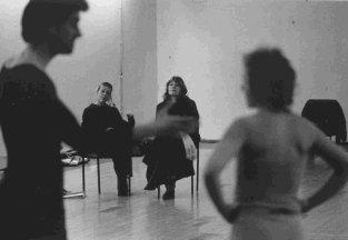 Rehearsal with students for ASH by Peter Oswald