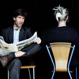 Newspaper - UK tour of Short Shrifts by Peter Oswald