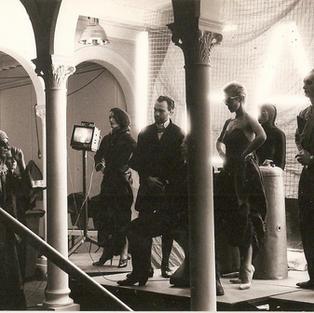Playing Regan in King Lear at Kunsterhaus Bethanien, Berlin