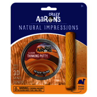 Crazy Aarons Natural Impressions Thinking Putty