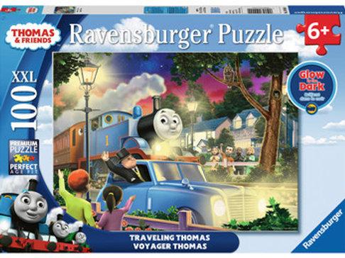 Traveling Thomas 100 pc Puzzle