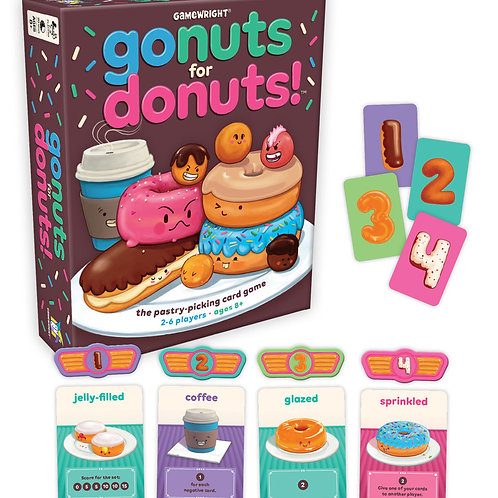 Go Nuts for Donuts Game