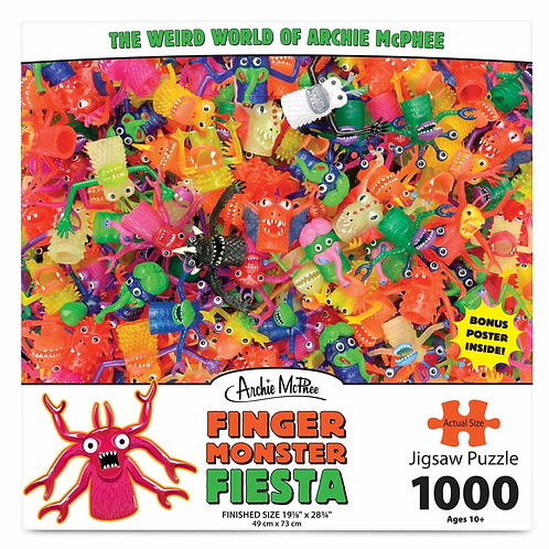 Finger Monster Fiesta 1000 Pc Puzzle