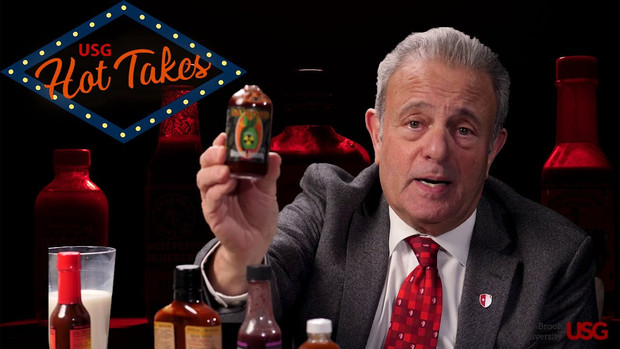 Stony Brook Hot Takes: A Hot Ones Homage